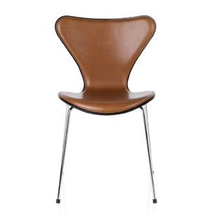 Series 7 3107 Chair Wild Leather Front Walnut