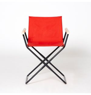 Prop Chair Beetle Red