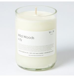Wild Woods & Fir Scented Candle
