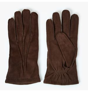 Men's Arthur Suede Gloves Brown