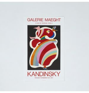 Wassily Kandinsky 'Forme Rouge' Poster