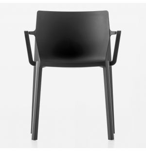 LP Stackable Armchair Black