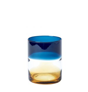 Ombre Tumbler in Blue & Amber