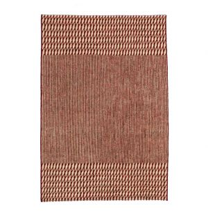 Blur Rug in Red