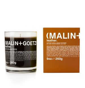 Leather Scented Candle