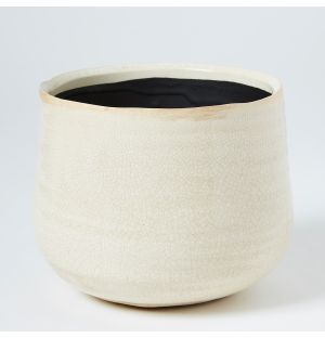 Small Como Pot in Ivory
