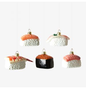 Sushi Christmas Tree Decoration