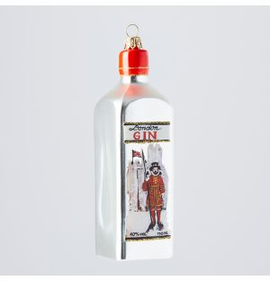 Gin Bottle Christmas Tree Decoration