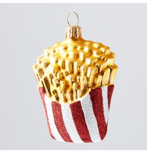 Fries Christmas Tree Decoration