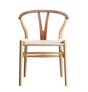Exclusive CH24 Wishbone Chair Oak & Walnut
