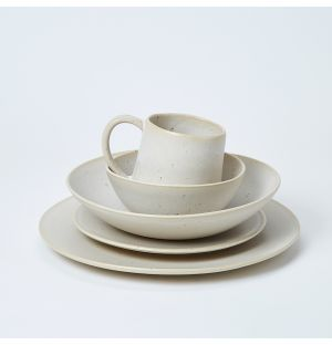 Speckle Dinnerware Collection in Natural