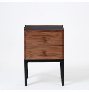 Monument 2-Drawer Bedside Table