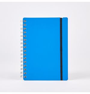 A5 Lined Studio Notebook in Pool