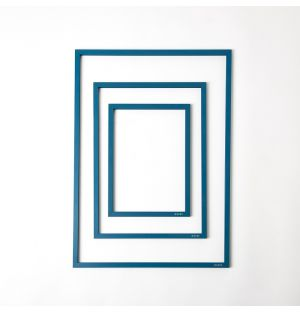 Frame & Rubber Band in Petrol Blue