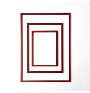 Frame & Rubber Band in Red