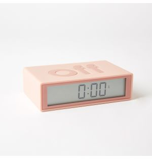 FLIP+ Reversible LCD Alarm Clock RCC in Pink