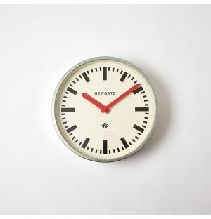The Luggage Wall Clock in Red 30cm