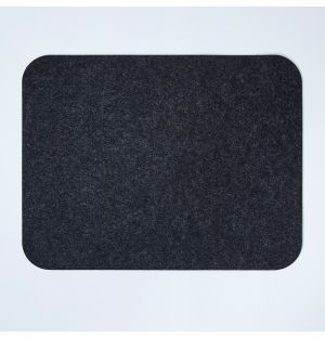 Felt Rectangular Placemat Graphite