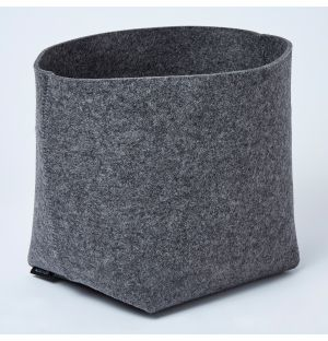 Silo Planter Basket Anthracite Large