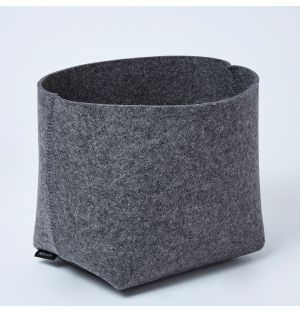 Silo Planter Basket Anthracite Medium