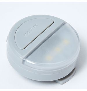 Eclipse Wearable Light Clip in Grey