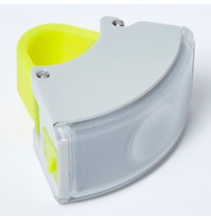 Curve Front Light 2 in Grey & Acid Yellow