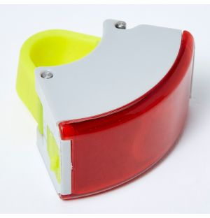 Curve Rear Light 2 in Grey & Acid Yellow