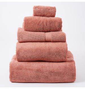 Premium Terry Towel Collection in Clay