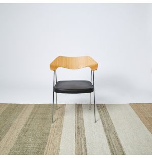 Stripe Rug in Natural