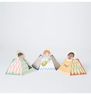 Pop-Up Angel Christmas Cards Set of 3