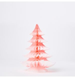Tip Tree Christmas Decoration in Pink 25cm