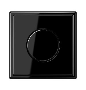 LS 990 Dimmer Wall Switch & Frame Black