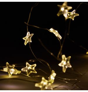 Trille Star Battery Fairy Lights