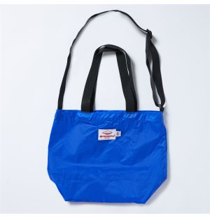 Mini Packable Tote Bag in Royal Blue