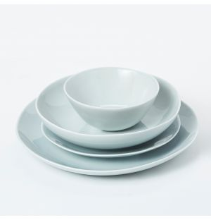 Pintura Washed Dinnerware Collection in Pebble