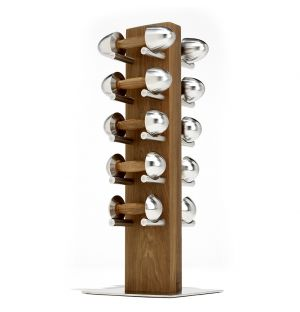 LOFT Dumbbell Set Walnut