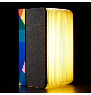 Exclusive Lumio+ Mini Book Lamp in Conran Print