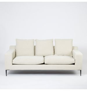 Ex-Display Chiltern 3-Seater Sofa in Bone Cotton Texture Weave