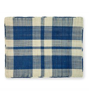 Iraca Placemat in Blue