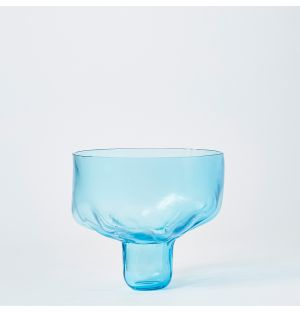 Bloom Bowl Dish in Ice Blue
