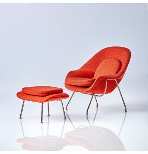 Miniature Womb Chair And Ottoman