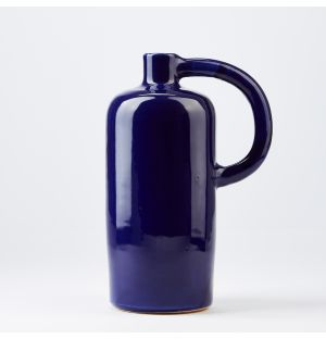 Bottle Jug Vase in Blue