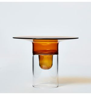 Firefly Candle Holder in Amber