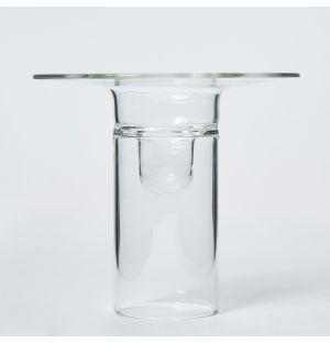 Medium Firefly Candle Holder in Clear