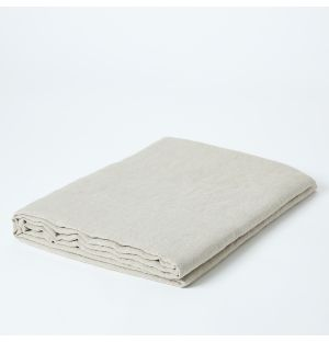 Linen Tablecloth in Natural