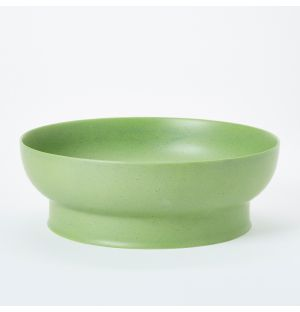 Serving Bowl in Matt Green 28cm
