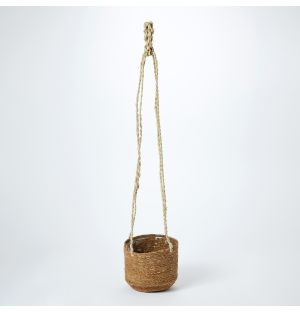 Tall Woven Hanging Basket