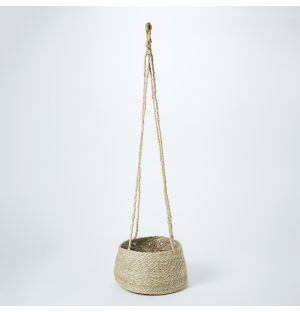 Tapered Woven Hanging Basket