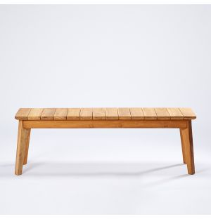 Outdoor Bench in Teak