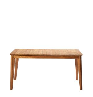Outdoor Dining Table in Teak 160cm